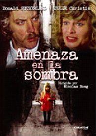 Amenaza en la sombra (1973) Reino Unido. Dir.: Nicolas Roeg. Drama. Thriller – DVD CINE 1859