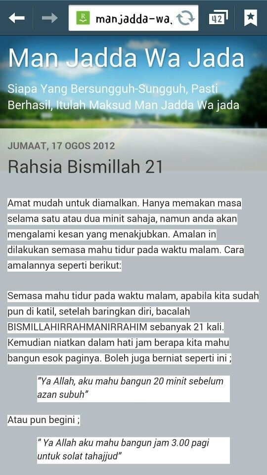 Rahsia Bismillah 21 *link in comment*