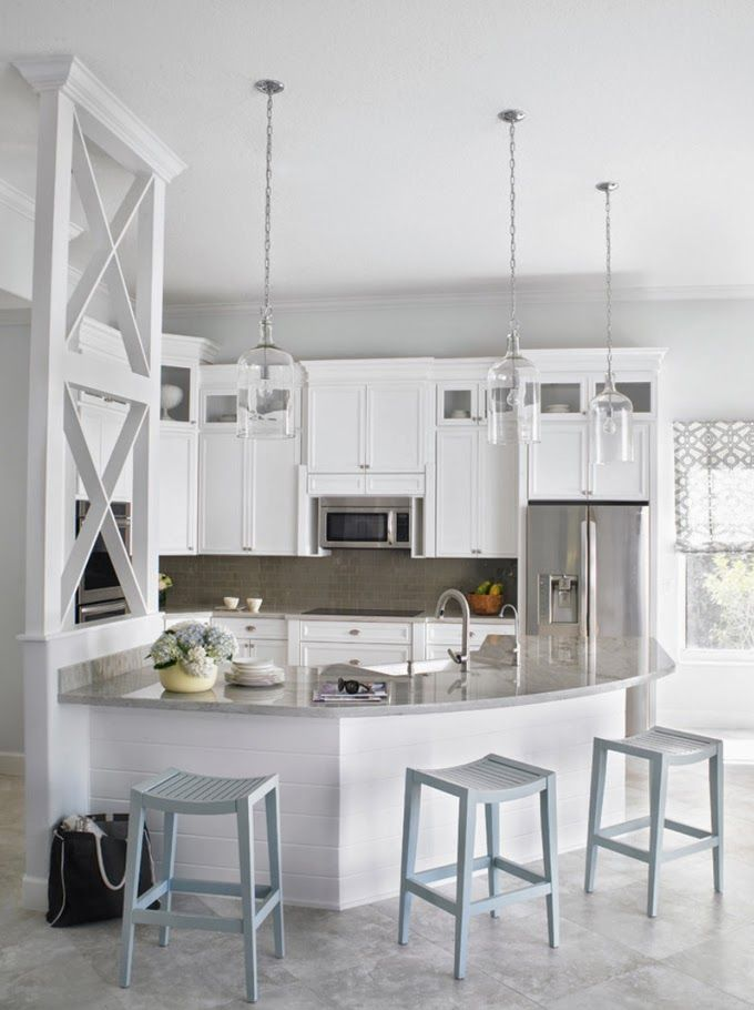 white kitchen by Krista Watterworth Design Studio