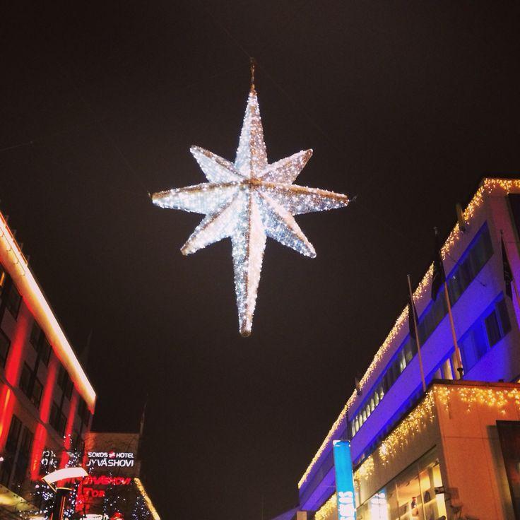 Jyväskylän joulu. #kompassi