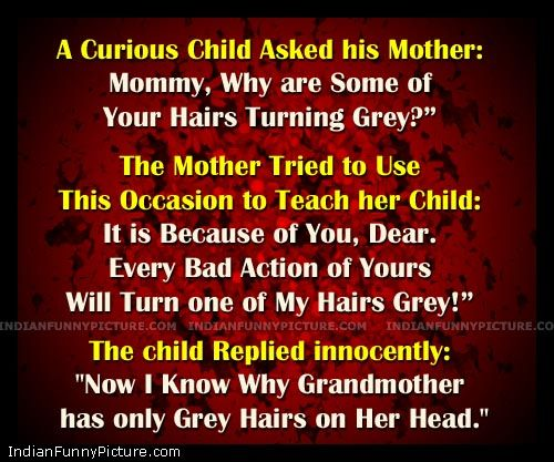 The Child & His Mother !! Short Funny Stories in English