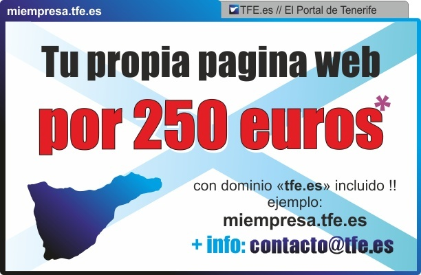 TU PAGINA WEB EN TENERIFE