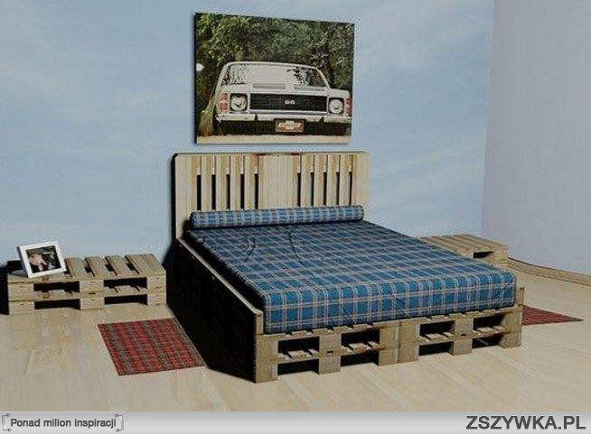 Zobacz zdjęcie łóżko z palet :) w pełnej rozdzielczości