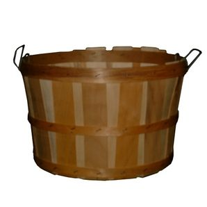 Wooden 1/2 Bushel Basket, with Handles -- Homehardware.ca