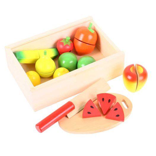 Trälåda Med Frukt