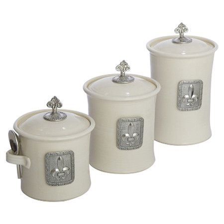 spice jars and canisters