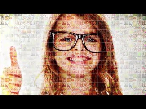 Mosaic Photo Reveal | After Effects Template | Free Download
