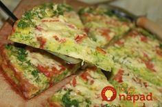 Rýchly obed, ako stvorený na teplý letný deň. Doprajte si pečenú pochúťku zo šťavnatej cukety na spôsob obľúbenej pizze.