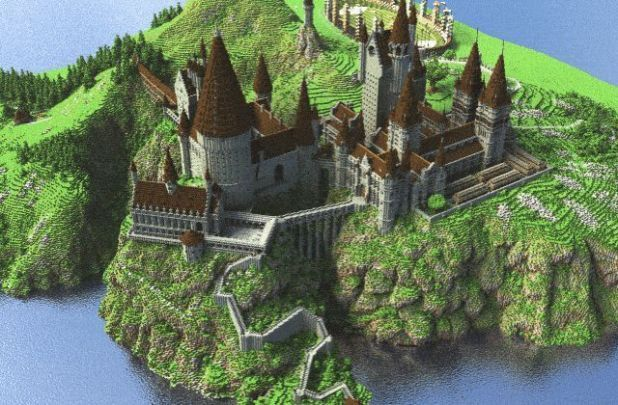 The Real Hogwarts Download Minecraft P Hogwarts Minecraft Harry Potter Minecraft Hogwarts