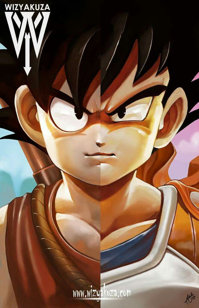 Goku and vegeta by wizyakuza