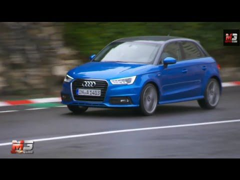 #AUDI A1 SPORTBACK 2015 - FIRST TEST DRIVE ONLY SOUND