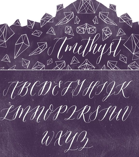 Molly Jacques Erickson has a new font!