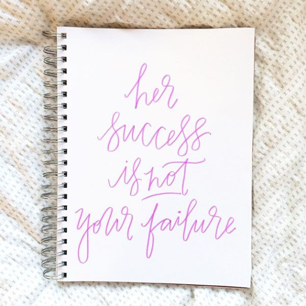 Favorite Reminder {Her success is not your failure via POPPYjack SHOP}