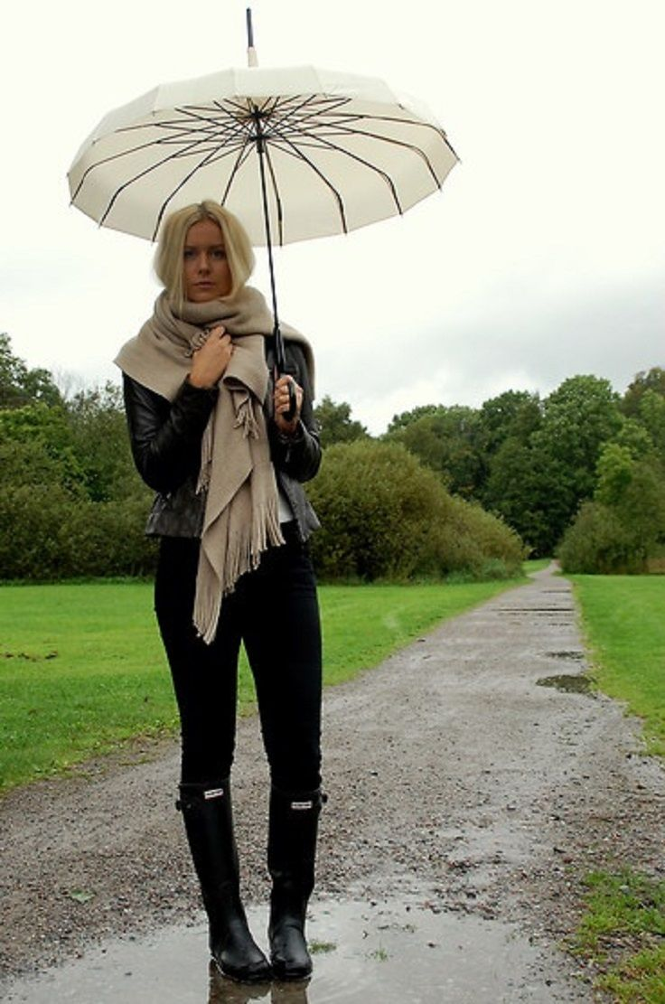 10 Rainy Day Outfits And Trends For Fall/Winter | Inspiration