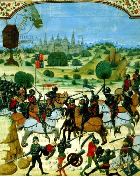 a historical analysis of the battle of crecy by j froissart Froissart writes that the french army  with a detailed description of the eventual final battle at crecy  battle: a history of combat and .