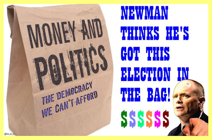 #auspol * CAMPBELL NEWMAN * NEWMAN THINKS HE'S GOT THIS ELECTION IN THE BAG #worstGOVever