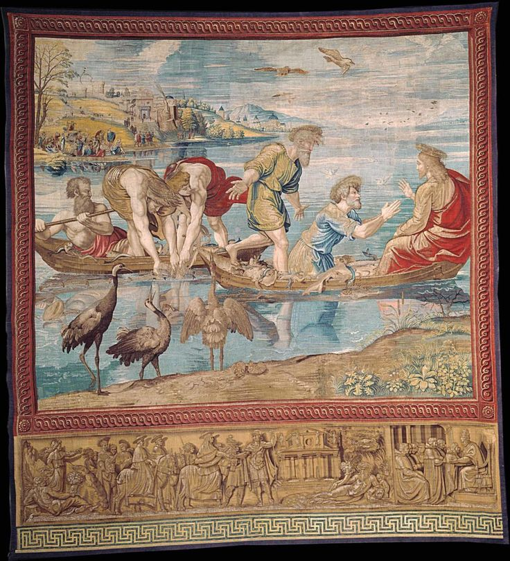 For One Week Only Raphael's Great Tapestries Have Returned