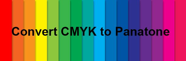 How to convert CMYK to Panatone