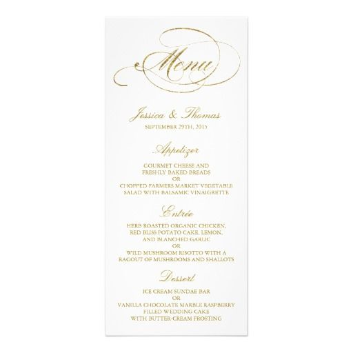 Best Wedding Dinner Menu Images On   Wedding Dinner