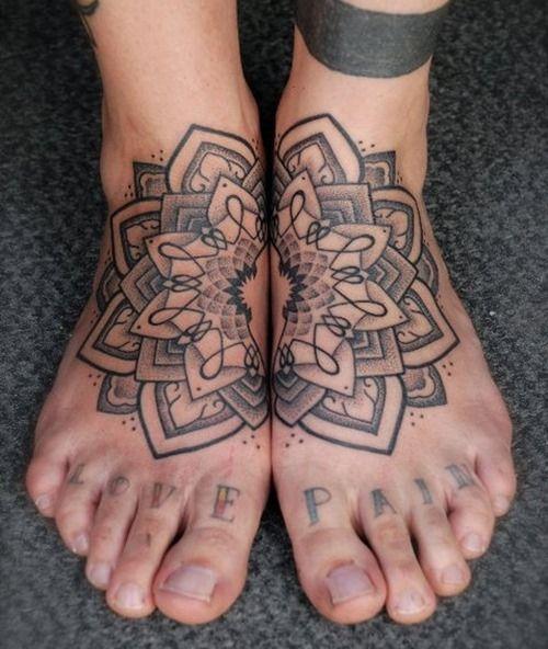35 Outstanding Foot Tattoo Designs: Best 25+ Mandala Tattoo Design Ideas On Pinterest
