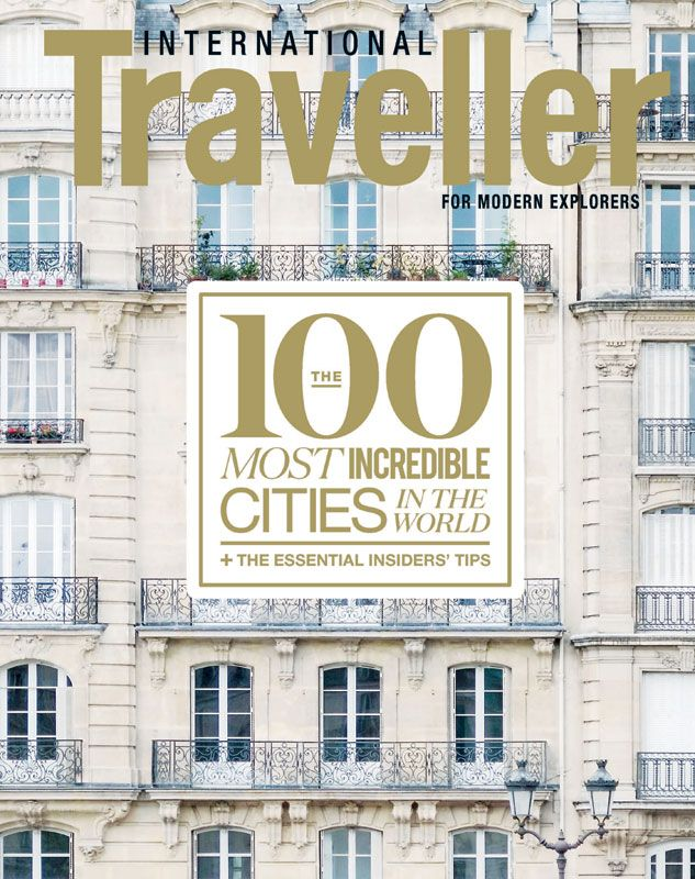 Issue 18 of International Traveller magazine, featuring our '100 Most Incredible Cities' countdown.