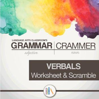 Verbals Gerunds, Participles, Infinitive Grammar Sort ...