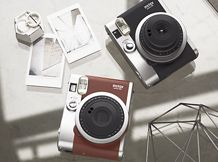 Fujifilm instax mini 90 NEO CLASSIC; Polaroid type camera. £110.