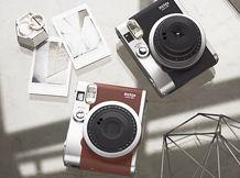 Fujifilm instax mini 90 NEO CLASSIC; Polaroid type camera. £110.