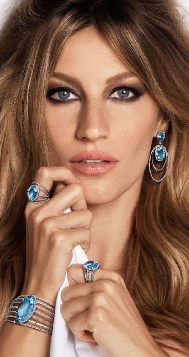 Gisele Bundchen for VIVARA Jewelry 2015