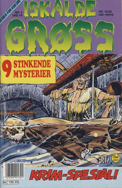 Cover for Iskalde Grøss (Semic, 1982 series) #3/1991