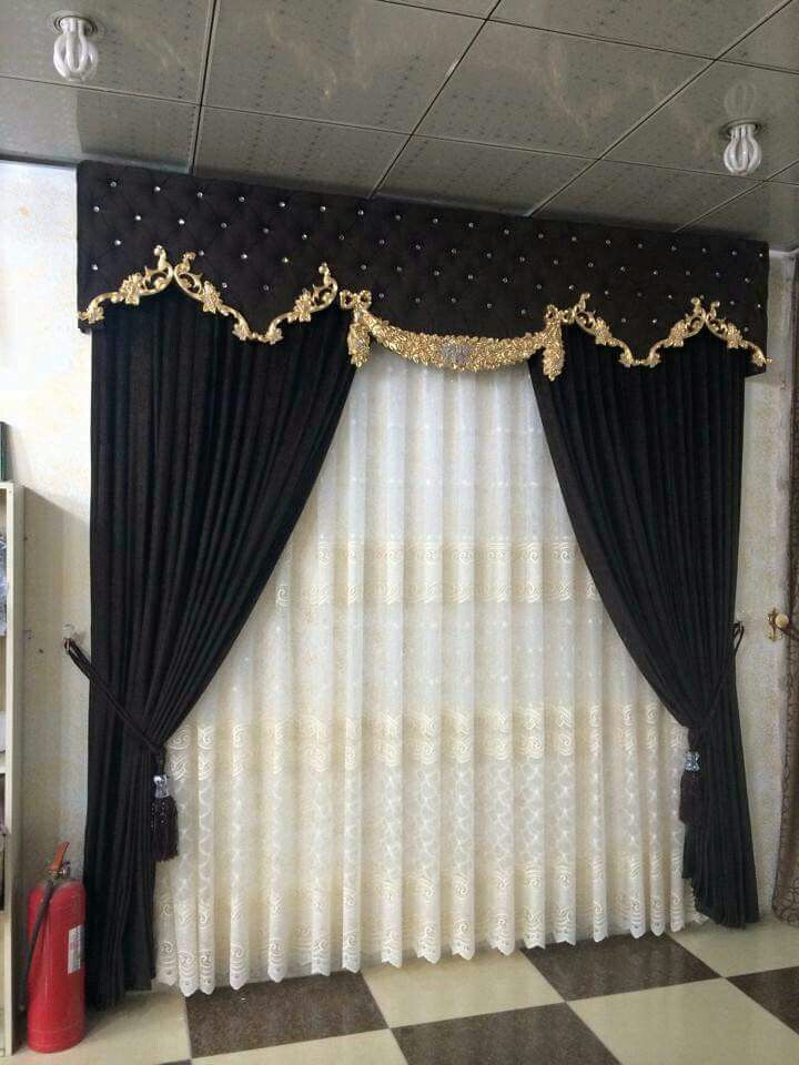 Anuwaa blackout curtains 63 inch length 2 panels, linen black out window curtains & drape, curtains for bedroom and living room, wine red, 52x63 inch, 2 panels set 4.8 out of 5 stars 21 $9.99 $ 9. 25 Black Curtains Ideas Curtains Black Curtains Curtain Designs