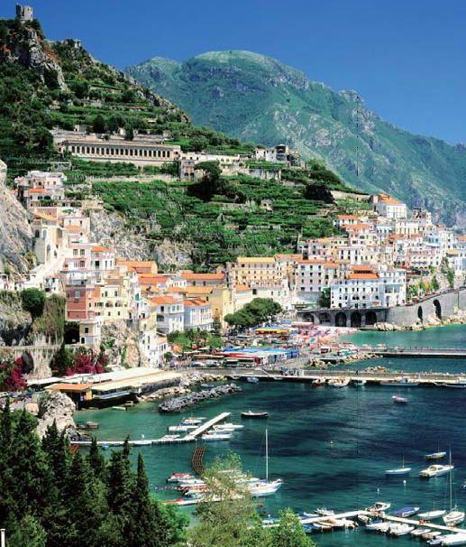 世界遺産アマルフィ(イタリア) Amalfi, Italy