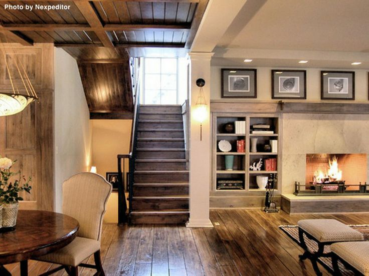 Adding new flooring and new paint are easy and cheap additions to an basement. See what it costs. #rustic