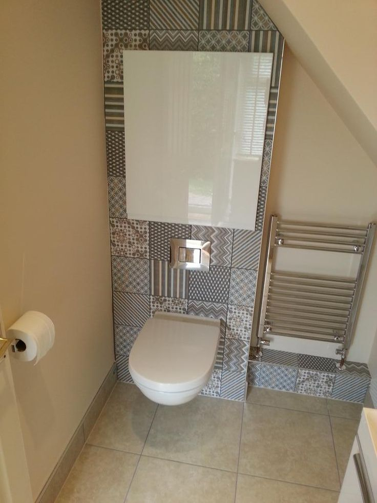 Twitter / noitavonnitiler: It's finished. Small #bathroom with Recer Boheme...