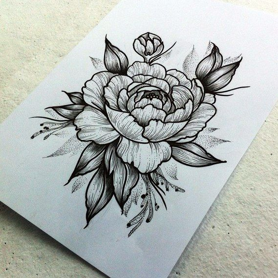 peony 134 ink tatouage tatouage pivoine et tatouage femme. Black Bedroom Furniture Sets. Home Design Ideas