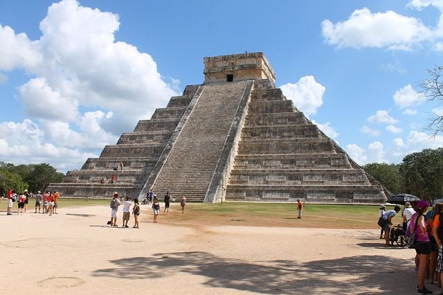 The Amazing Pyramid of Kukulcan at Chichen Itza