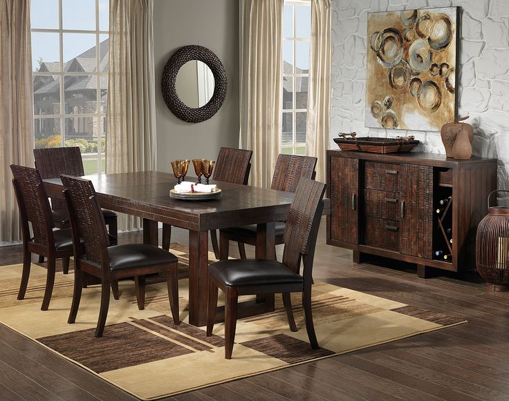Dining Room Furniture The Portland II Collection Pub Table