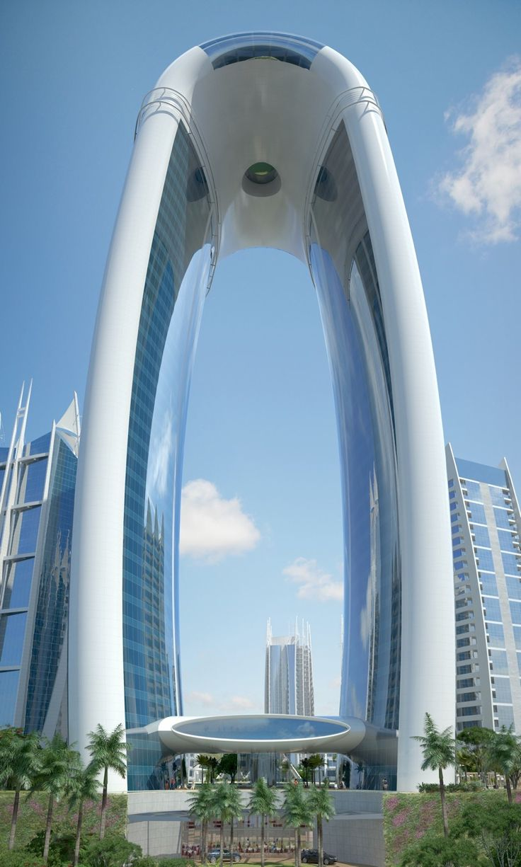 Arch Hotel, Jakarta, Indonesia Architect: Tom Wright with Geku George [Futuristic Architecture: http://futuristicnews.com/category/future-architecture/]