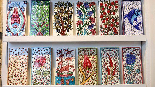 Take a closer look into traditional Turkish motifs& TURKEY