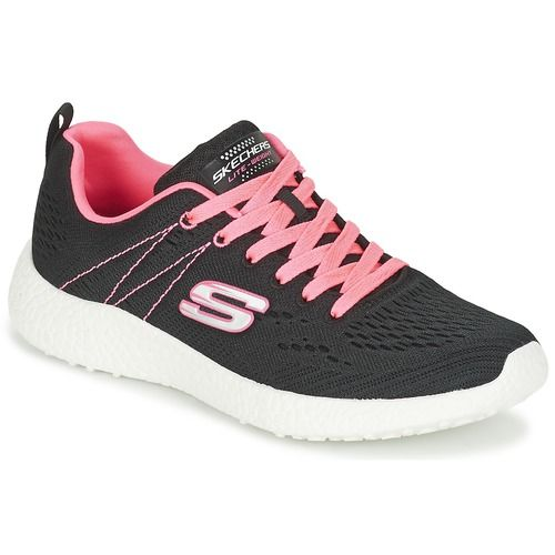 Go Walk Lite-Rise, Baskets Enfiler Femme, Rose (Pink), 36 EUSkechers