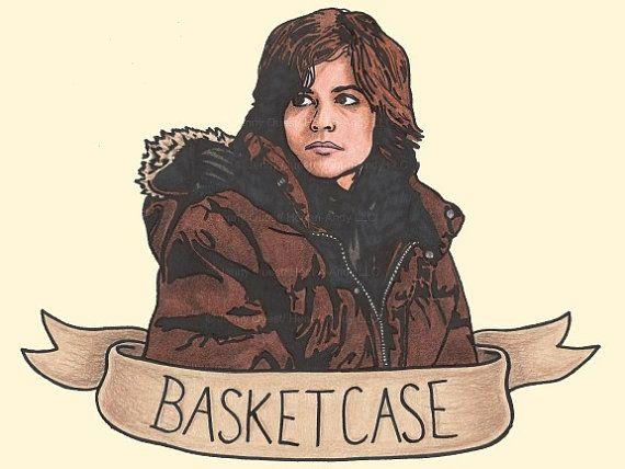 80s Pop Portrait Art PRINT: Breakfast Club Basketcase via Etsy