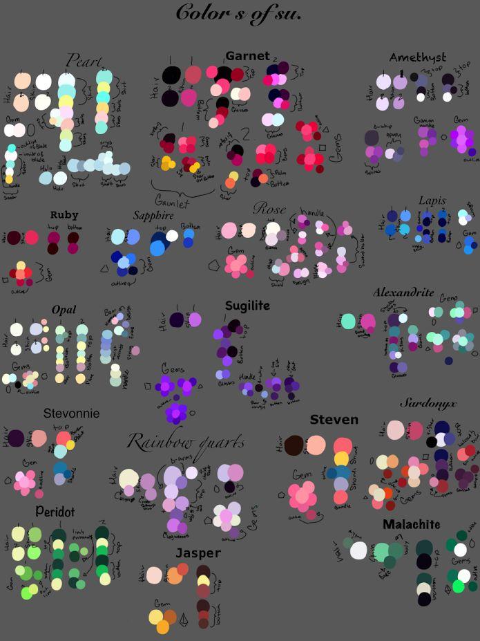 Character Design Color Scheme : Best color images on pinterest palettes colour