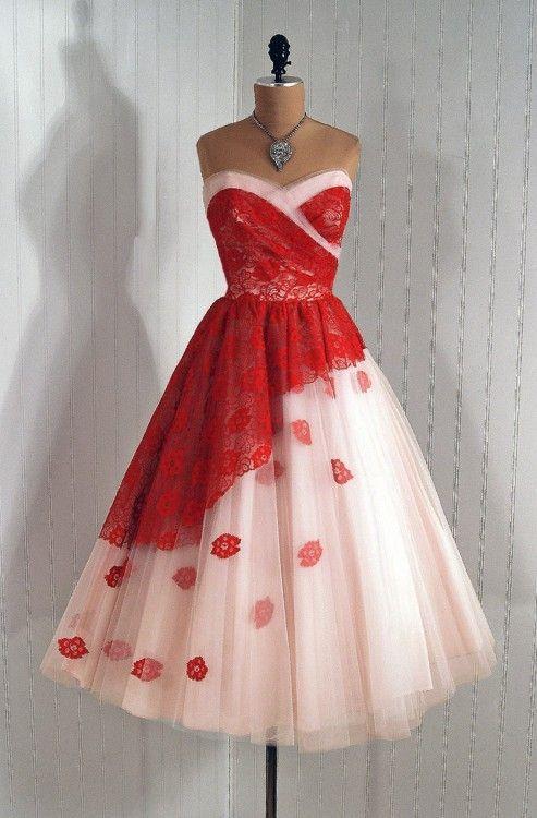 1950's vintage prom dresses