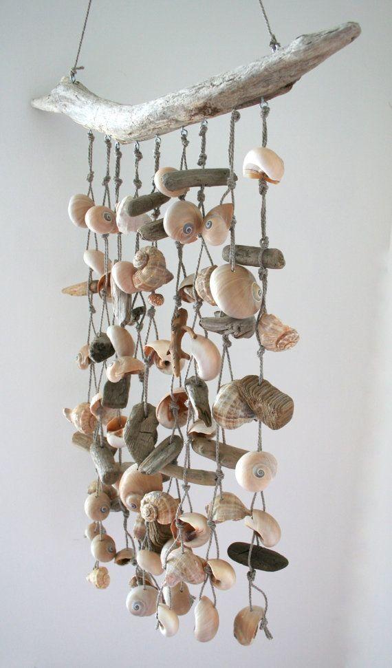 Sea Shell Mobile Beach Wind Chime