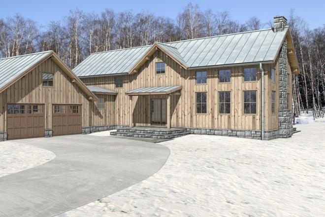 Rustic Sip House Plan Or Luxury Cabin Rustic Retreat