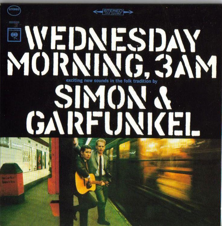 Simon & Garfunkel: Wednesday Morning, 3AM - Album Cover