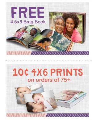 FREE 4.5 x 6 Brag Book & More at Walgreens Photo!!