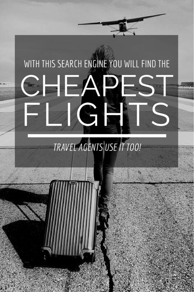 Find the cheapest tickets ever with this search engine!