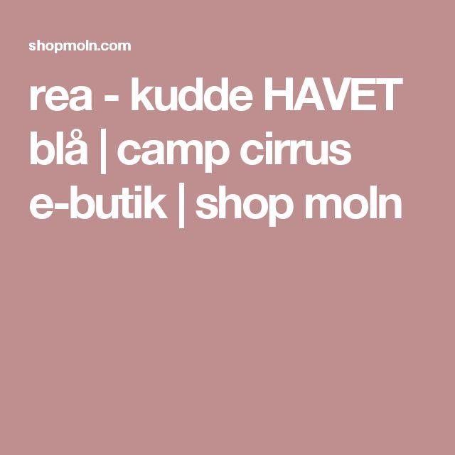 rea - kudde HAVET blå | camp cirrus e-butik | shop moln
