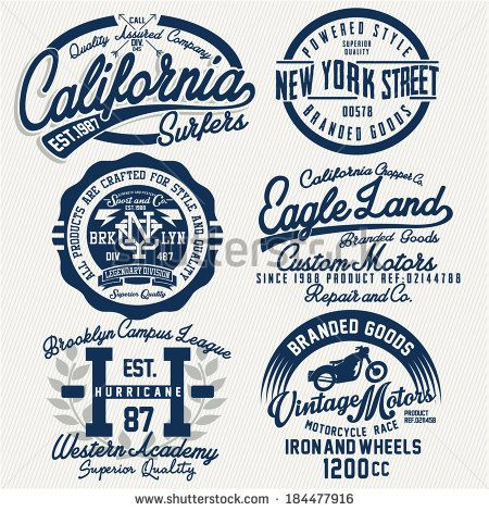 t-shirt graphics by bounce, via Shutterstock